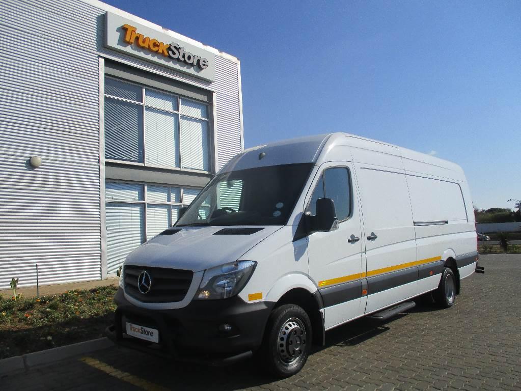 Used mercedes benz sprinter 519cdi xl panel van panel vans for Used mercedes benz sprinter vans for sale