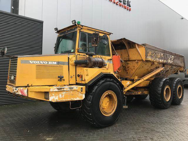 Volvo A25C 6 x 6 Tailgate