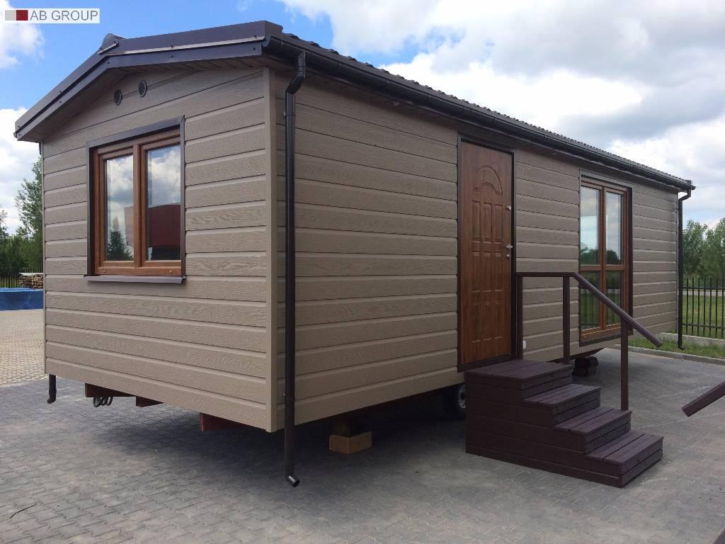 mobile home domek mobilny 9x3 5 kerrafront oliwka. Black Bedroom Furniture Sets. Home Design Ideas