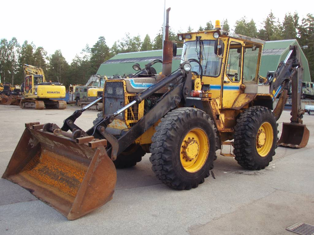 Used Volvo -6300 backhoe loaders Year: 1985 Price: $21,972 for sale - Mascus USA