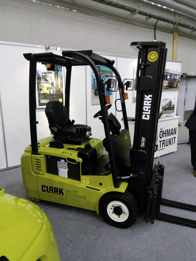 Used Clark Gtx 16 Electric Forklift Trucks Year 2018 For