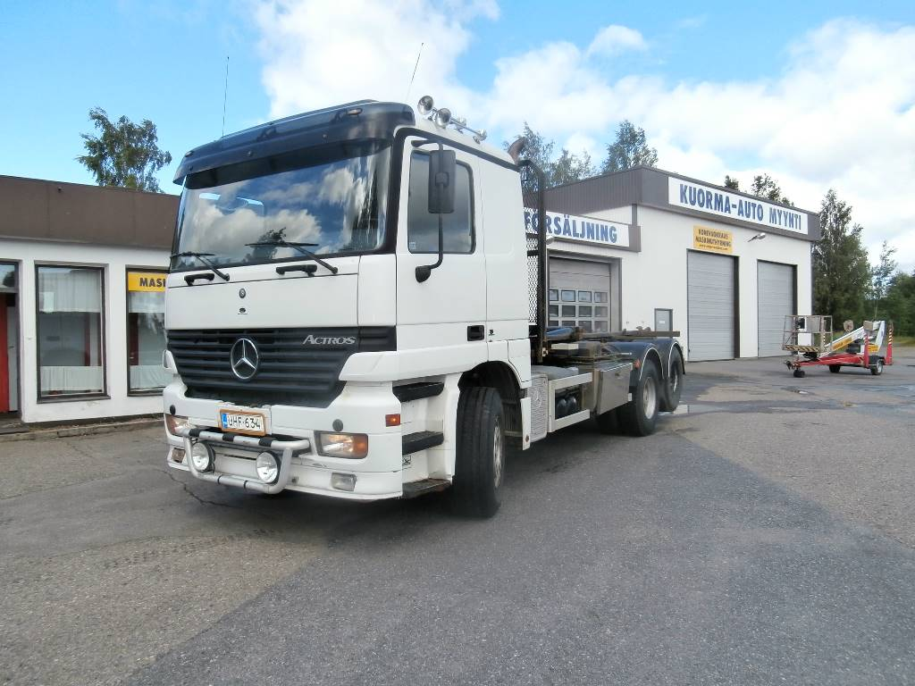 Used mercedes benz actros 2543 tow trucks wreckers year for Mercedes benz used vehicles