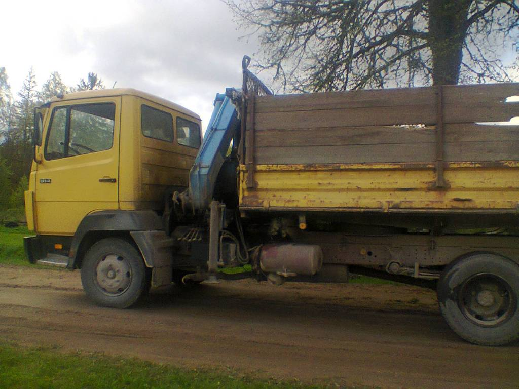 Used mercedes benz 814 dump trucks year 1991 price for Mercedes benz inspection cost