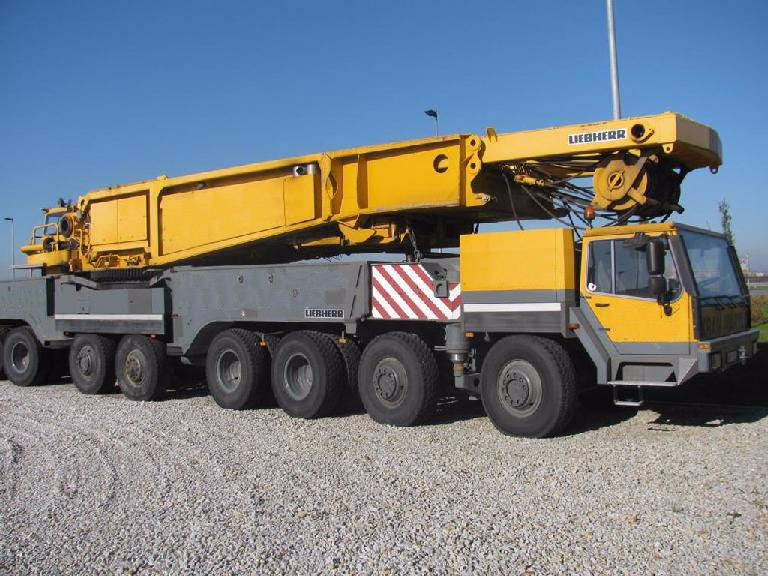 used liebherr mobile crane lg 1550 16x8x12 550 tons tower cranes year 2007 price 777 465 for. Black Bedroom Furniture Sets. Home Design Ideas