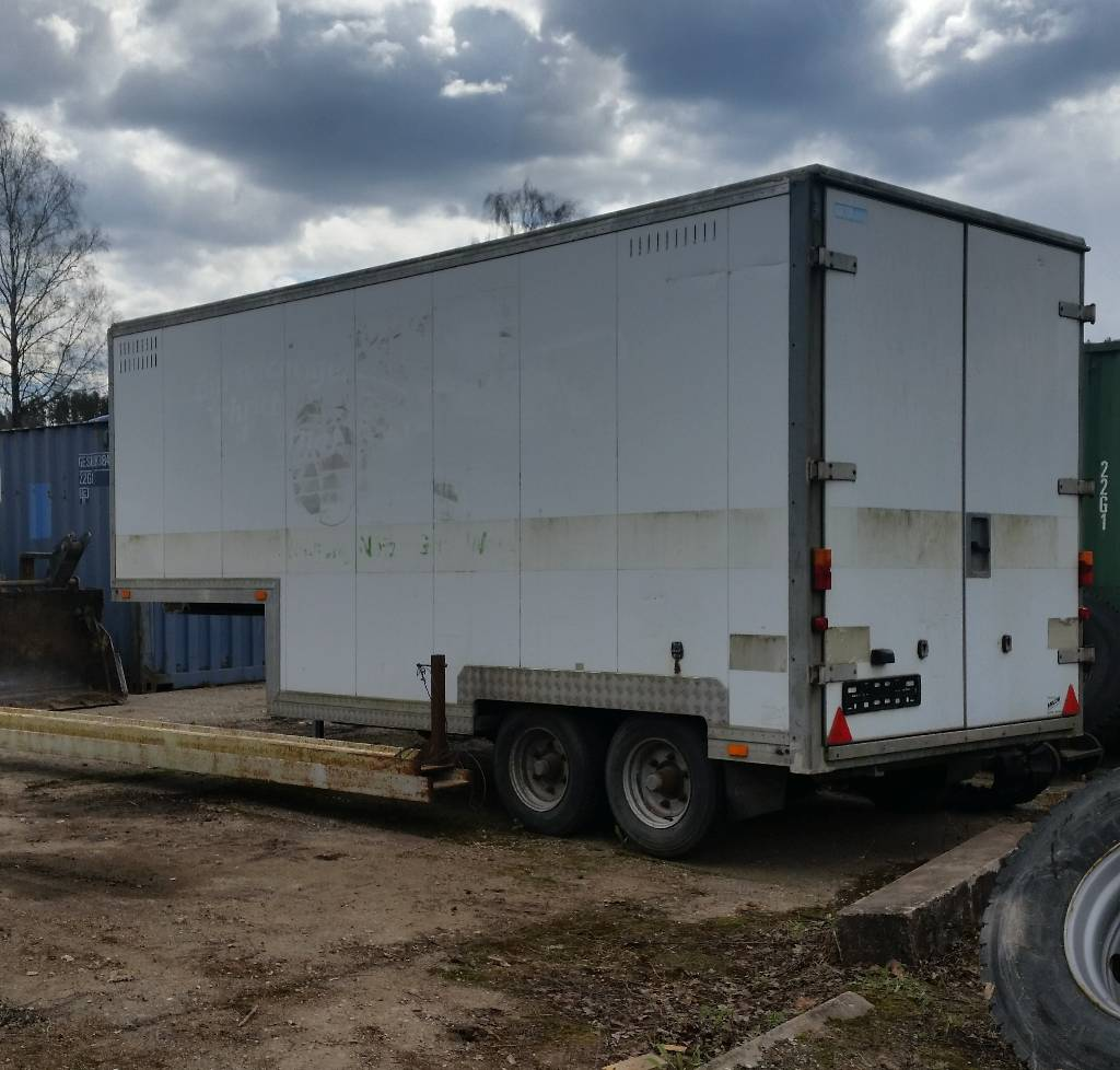 Search Results Used Vans For Sale In Nj Camper Vans Cargo: Used Sanh 4500 Animal Transport Semi-trailers Year: 1998