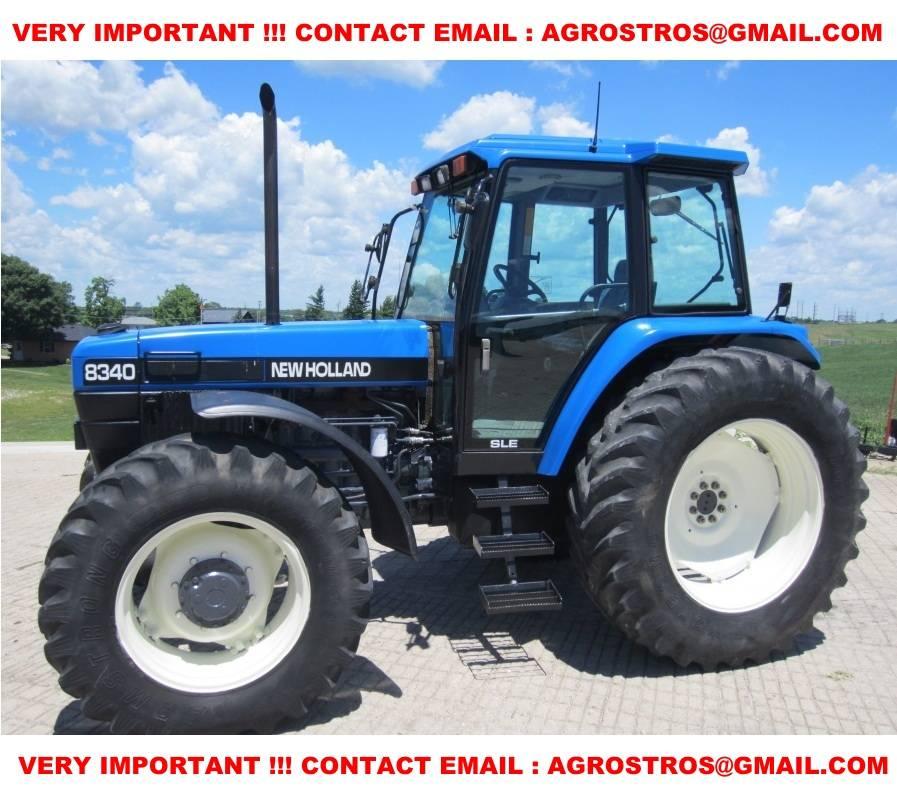 1996 New Holland Tractor : New holland year tractors id bffebdd