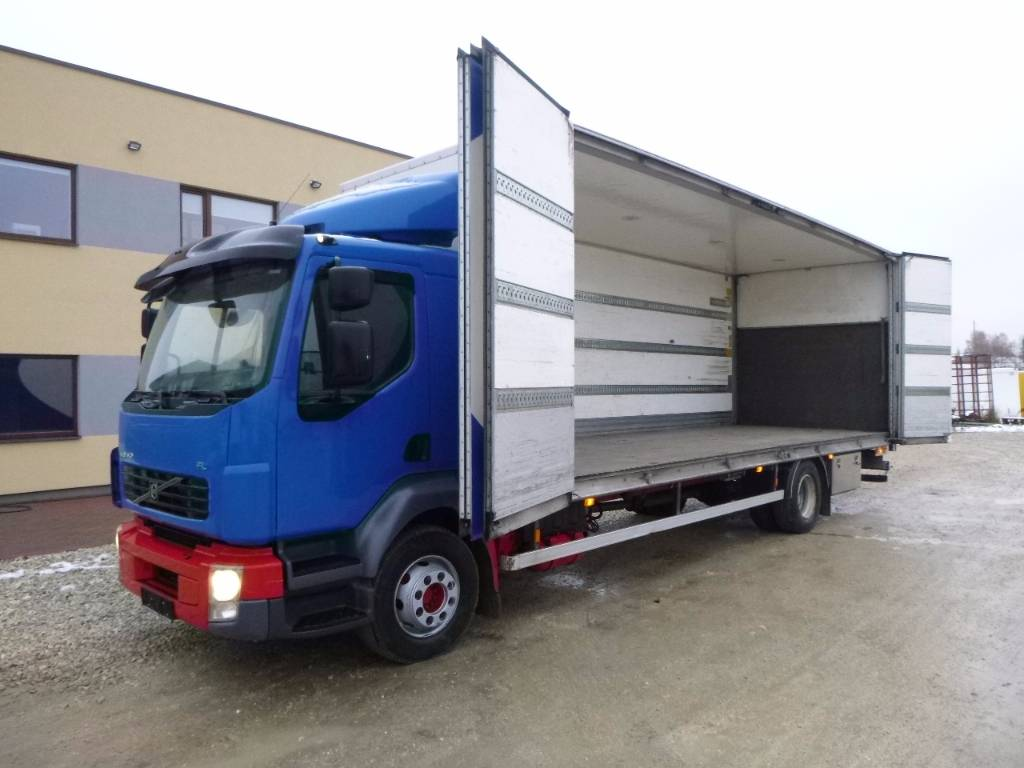 Used Volvo Fl240 4x2 Manual Lift Spoilers Side Open Box