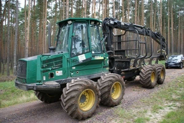 Used Timberjack 1110d Forwarders Year 2004 For Sale