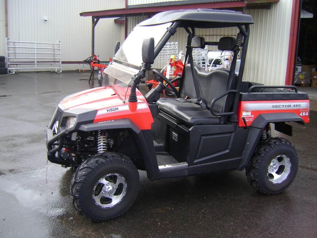 hisun hs 490 utv traktor b demok rd atv quad gebraucht. Black Bedroom Furniture Sets. Home Design Ideas
