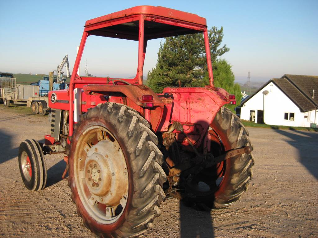 Mf Tractor 165 Value : Massey ferguson abergele tractors price £