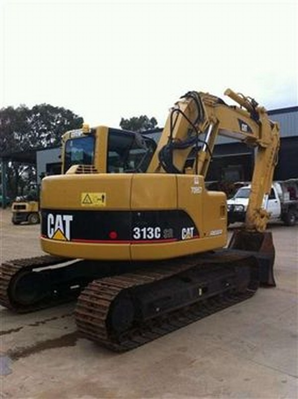 Used Caterpillar 313 Crawler Excavators Year 2007 Price