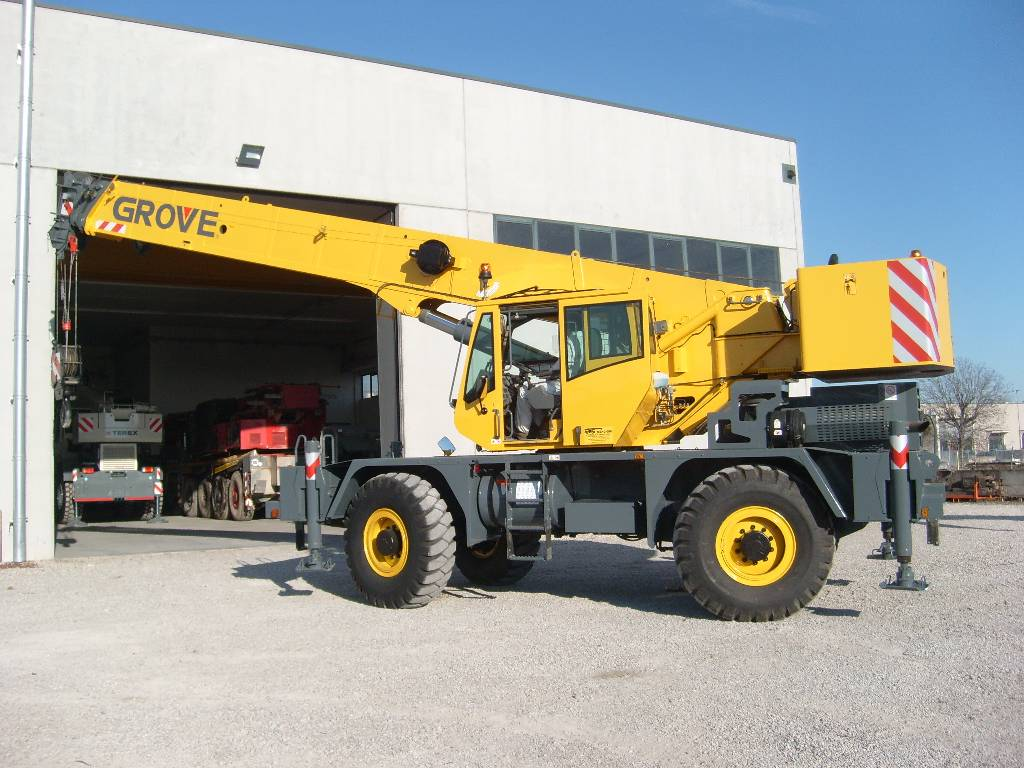 Used Grove Cranes : Used grove rt c e rough terrain cranes year for