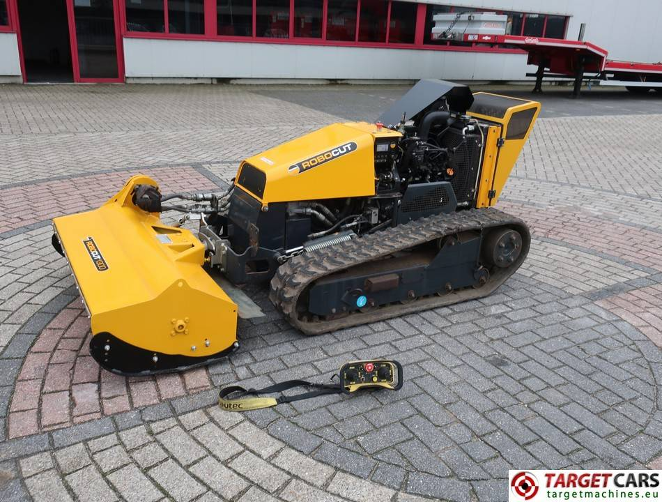 Used Mcconnel Robocut 1300 Energreen Remote Tracked Mower