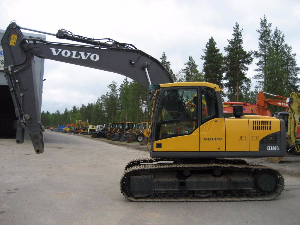 Used Volvo Ec160cl Crawler Excavators Year 2009 Price