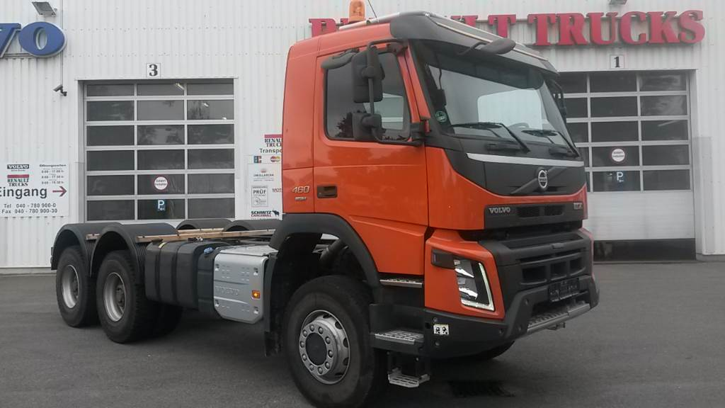 Volvo FMX 6X6 460 - Year: 2016 - Cab & Chassis - ID: A6D78129 - Mascus USA