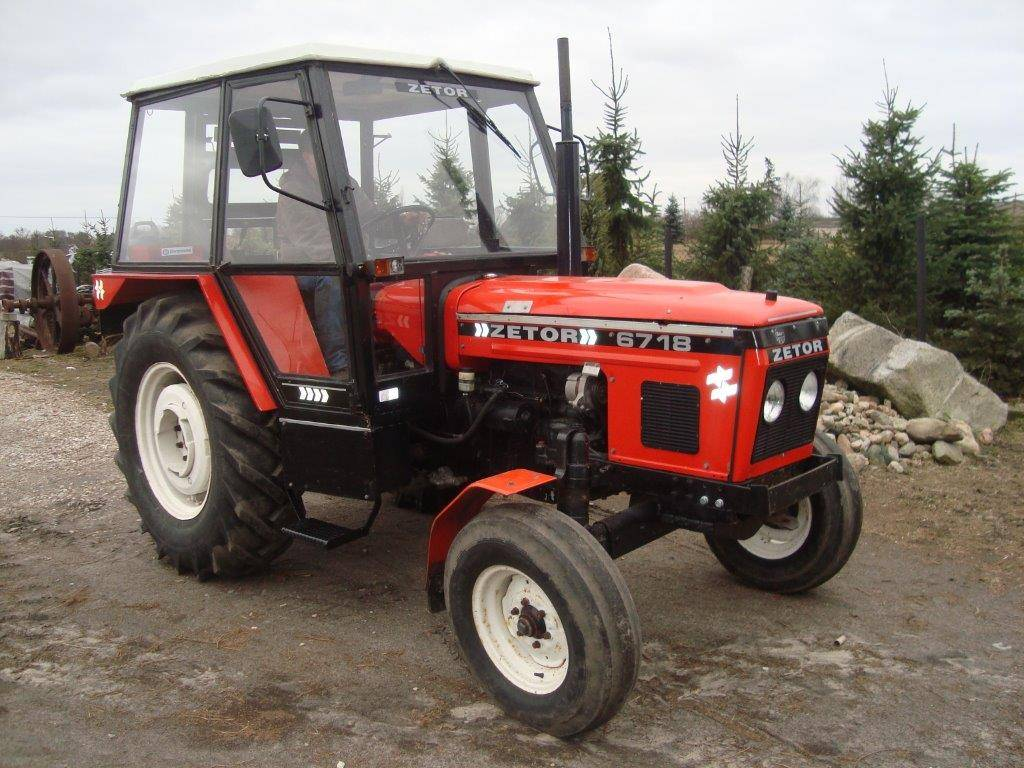 Used Zetor 6718 tractors Year: 1980 Price: $5,148 for sale - Mascus USA