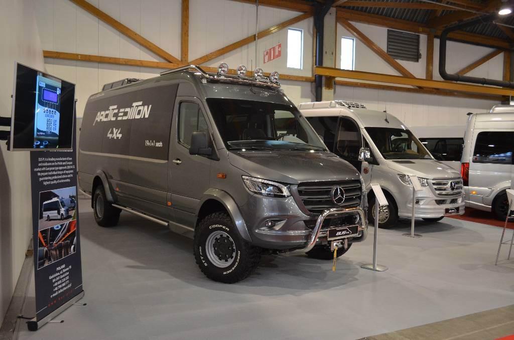 Mercedes Benz Sprinter 519 Cdi 4x4 2021 Poland Iceland Used Mini Bus Mascus Uk