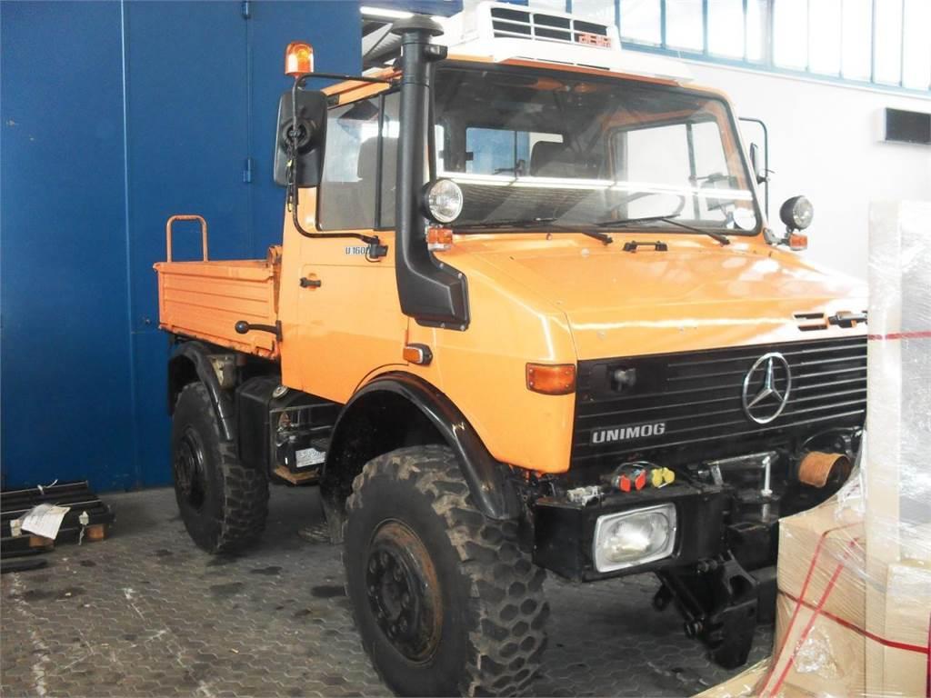Used Mercedes-Benz Unimog U 1600 utility tool carriers ...