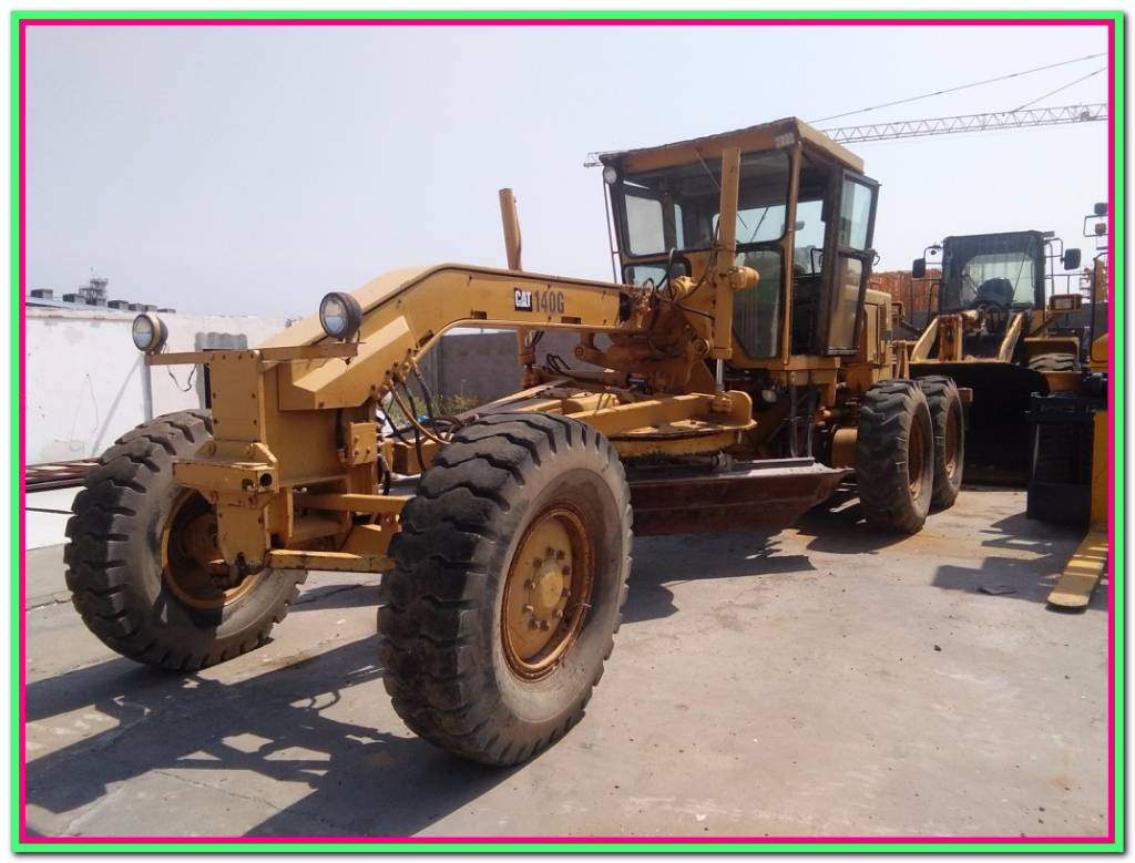 Used caterpillar 140 g motor graders year 1999 for sale for Used motor graders for sale