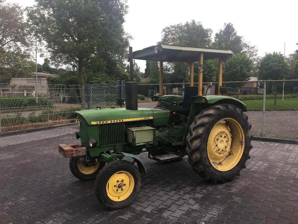 John Deere 1020 Engine : John deere tractors id ab a mascus uk