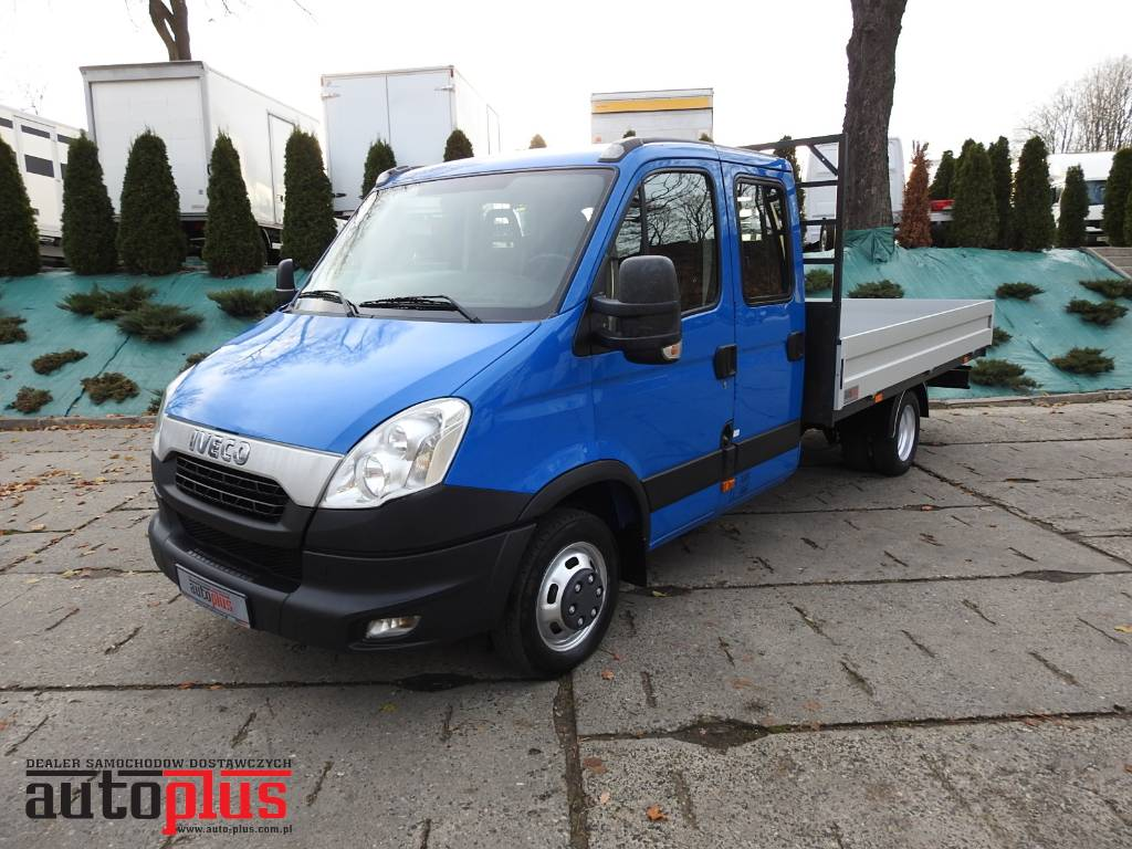 iveco daily 35c15 stake body doublecab 7 seats webasto year 2012 pickup trucks id. Black Bedroom Furniture Sets. Home Design Ideas
