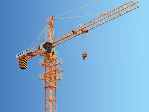 Used Zoomlion Tc6015a 10 Tower Cranes Year 2014 For Sale