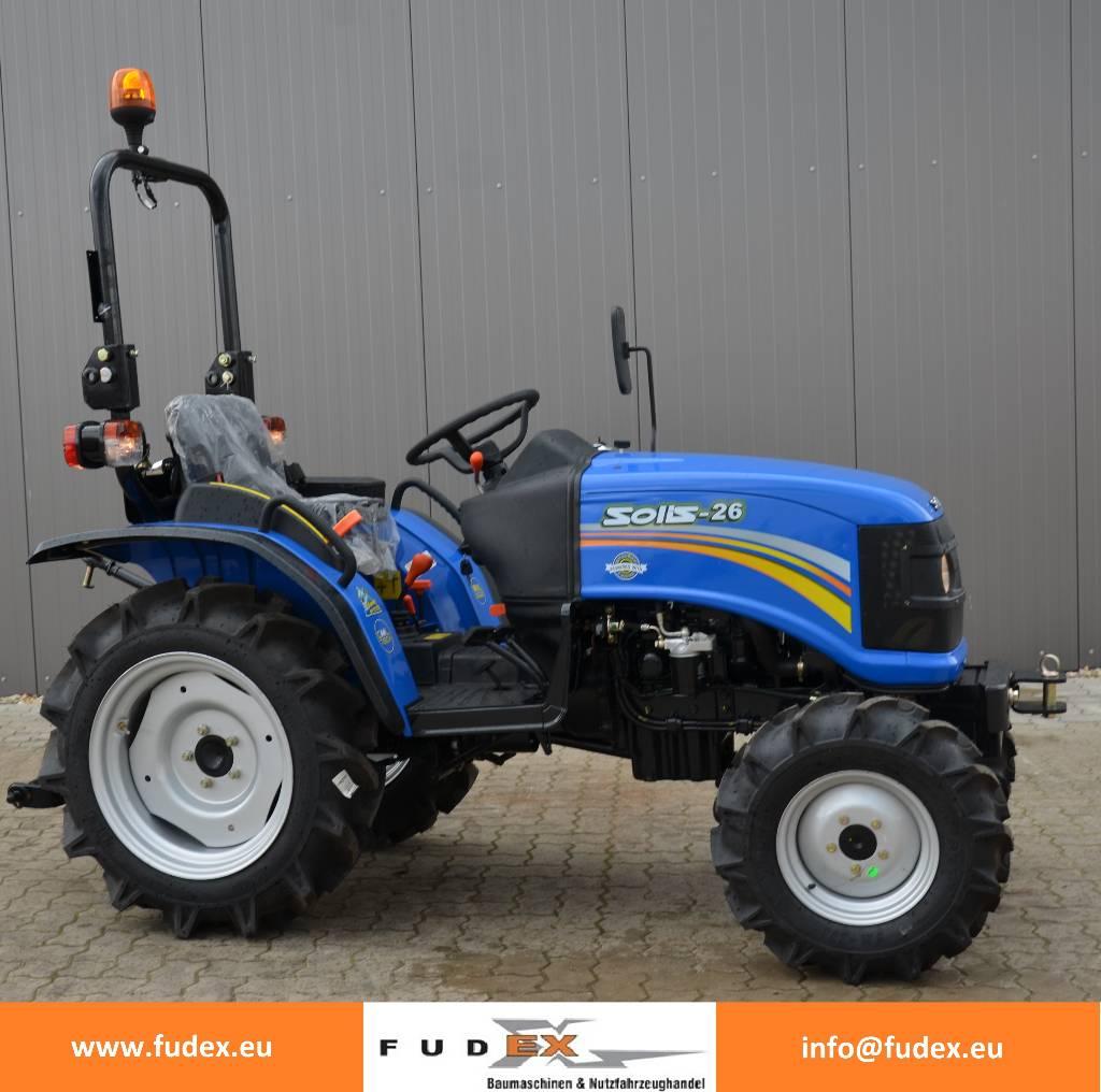 solis 26 rx kleintraktor traktor mitsubishi gebrauchte traktoren gebraucht kaufen und verkaufen. Black Bedroom Furniture Sets. Home Design Ideas