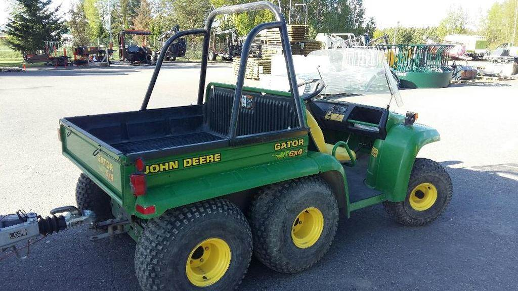 used john deere gator 6x4 atvs year 2008 price 5 981 for sale mascus usa. Black Bedroom Furniture Sets. Home Design Ideas