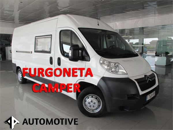 citro n jumper 2 2 hdi l3h2 furgoneta camper lieferwagen. Black Bedroom Furniture Sets. Home Design Ideas