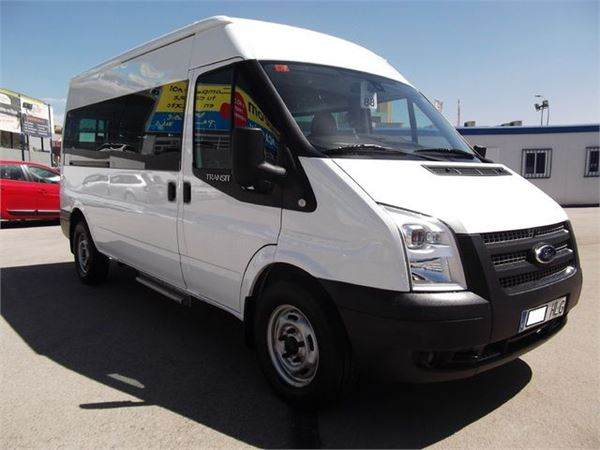 ford transit ft 350l kombi traccion trasera 100 occasion. Black Bedroom Furniture Sets. Home Design Ideas