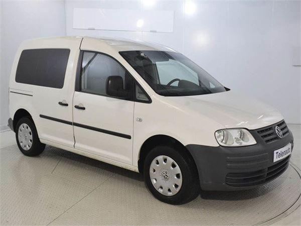 used volkswagen caddy 1 9 tdi kombi tramper 77kw 105cv. Black Bedroom Furniture Sets. Home Design Ideas
