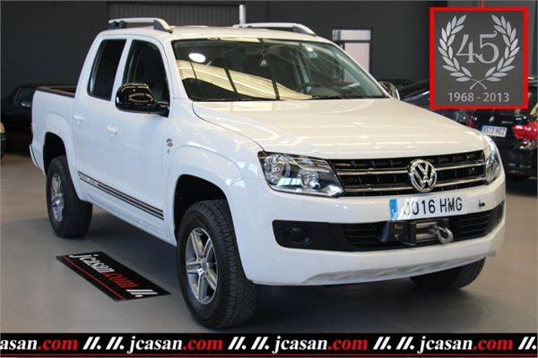 volkswagen amarok dcb 2 0tdi trendline 4x2 occasion prix 18 900 ann e d 39 immatriculation. Black Bedroom Furniture Sets. Home Design Ideas