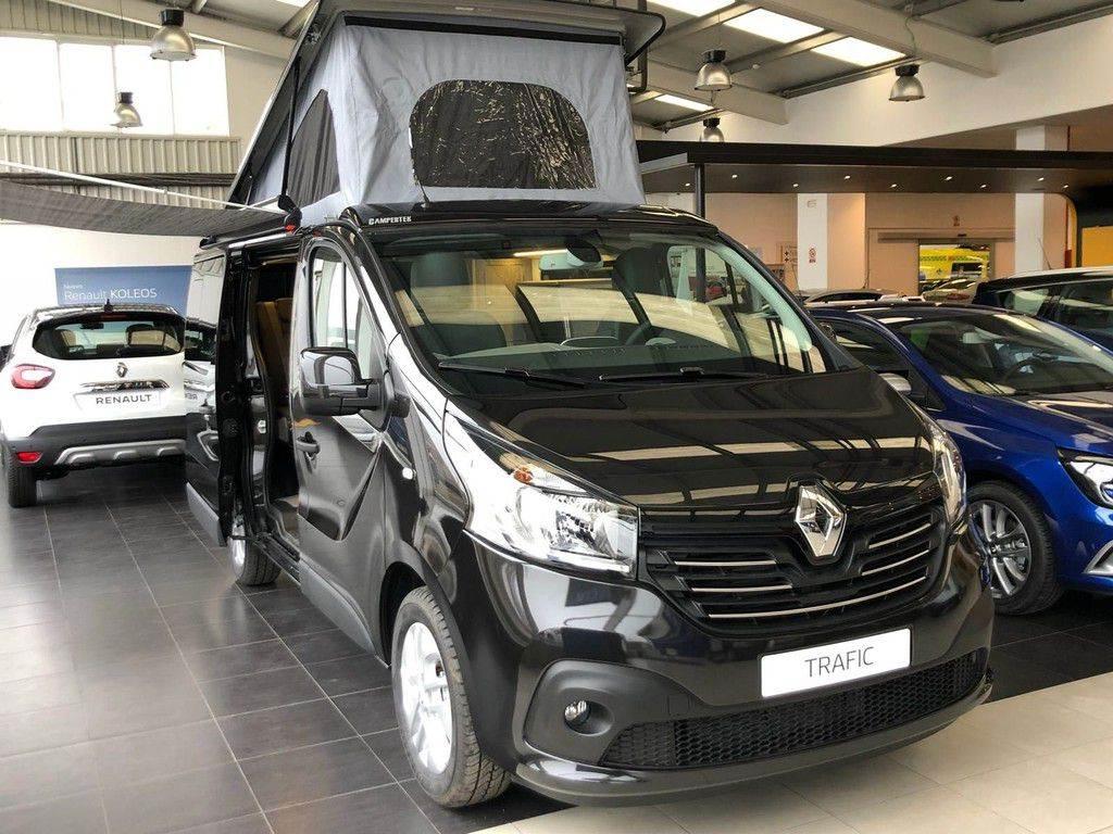 Renault Trafic Combi Black Edition Energy Dci 125 Tt E6 2018 Asturias Spain Used Panel Vans Mascus Uk