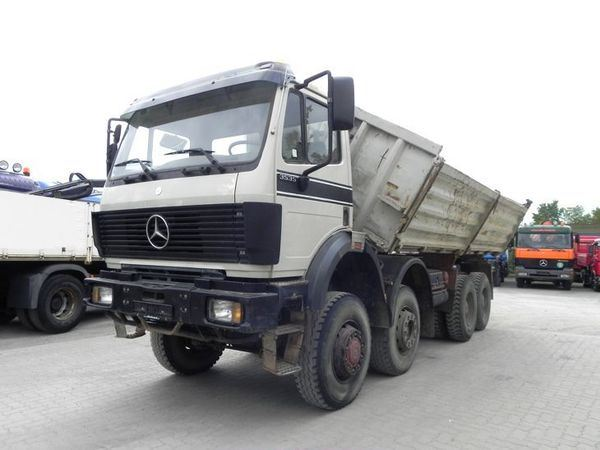 Used mercedes benz 3535 v8 8x6 kipper org aus deutschland for Used mercedes benz tipper trucks for sale in germany