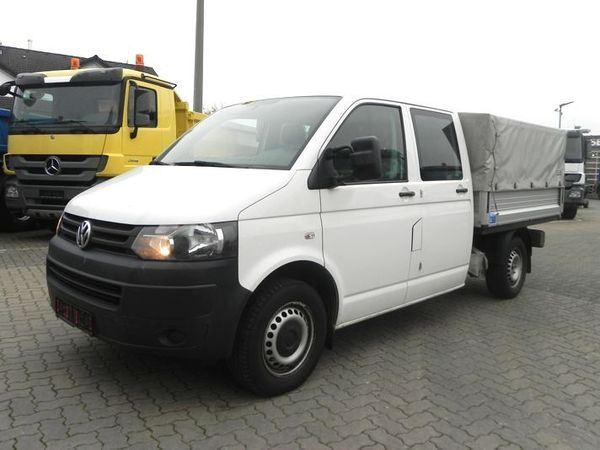 volkswagen t5 2 0 tdi blue motion doka pritsche plane. Black Bedroom Furniture Sets. Home Design Ideas