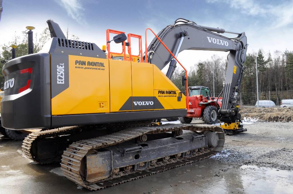 Volvo EC 250 EL - Crawler excavators for rent, Year of manufacture: 2016 - Mascus UK