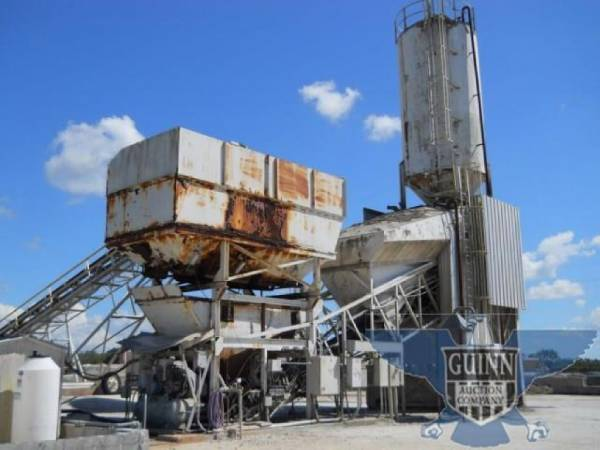 Cement Batching Plant : Buy used vince hagan dry batch concrete plant