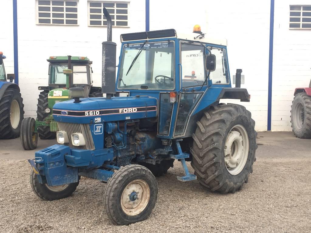 6100 Ford Tractor : Ebro jaar gebruikte tractoren id