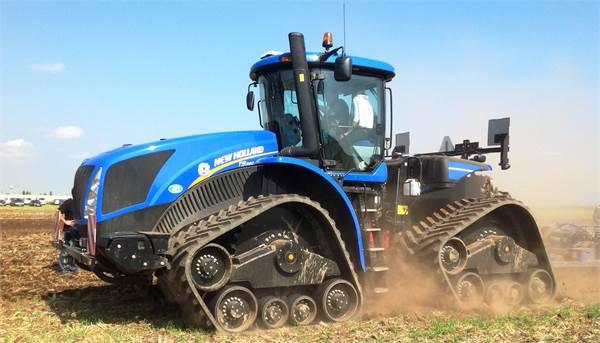new holland t9 560 baujahr 2013 gebrauchte traktoren. Black Bedroom Furniture Sets. Home Design Ideas