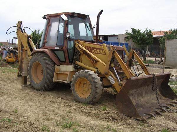 Used case 580 superk backhoe loaders year 1990 for sale for Avis e case construction