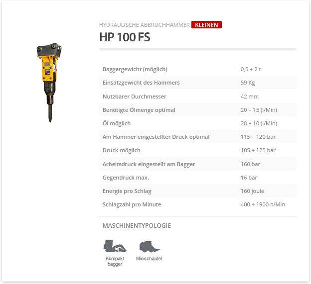 Indeco HP 100 FS