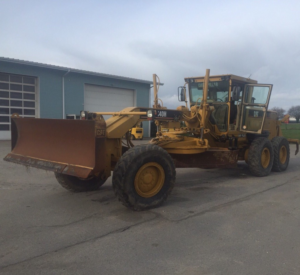 Used caterpillar 140h motor graders year 2007 for sale for Used motor graders for sale