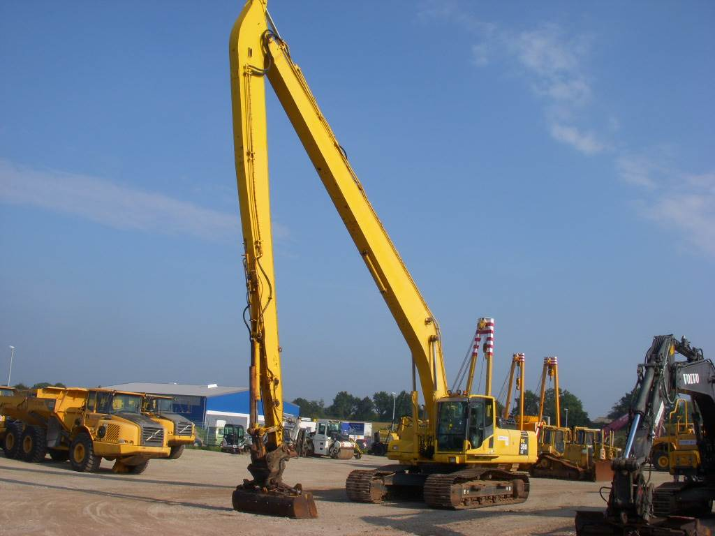 Used Komatsu PC 350 LC Super Long Reach Long / High Reach