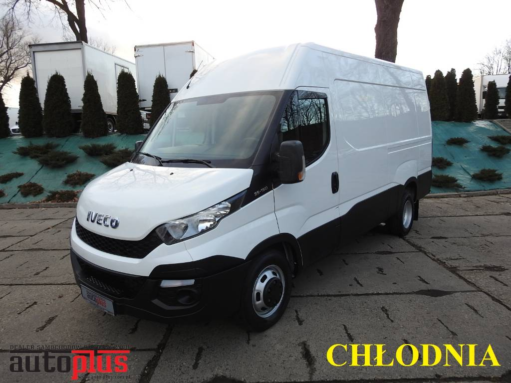 used iveco daily 35c15 refrigerator van a c cruise control. Black Bedroom Furniture Sets. Home Design Ideas
