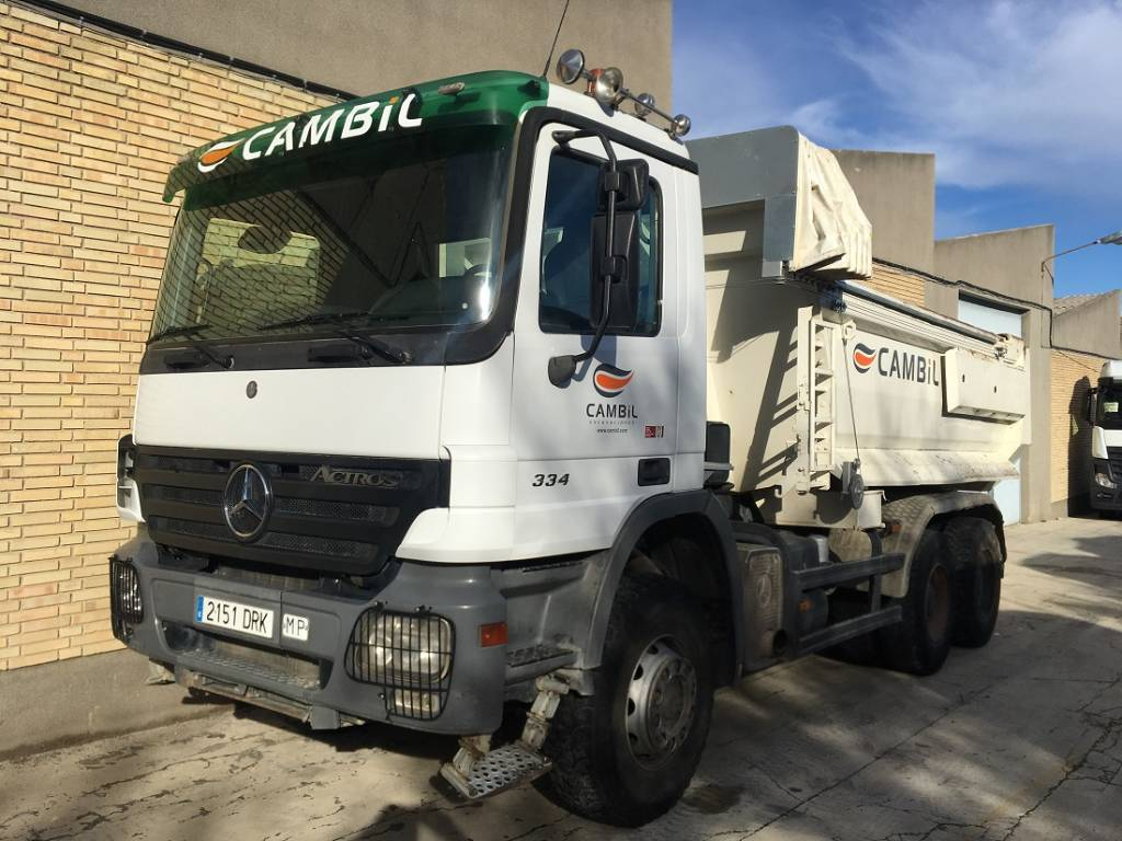 Mercedes benz 3341 k site dumpers price 46 543 year for Mercedes benz website