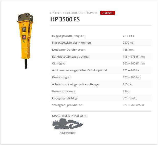 Indeco HP 3500 FS