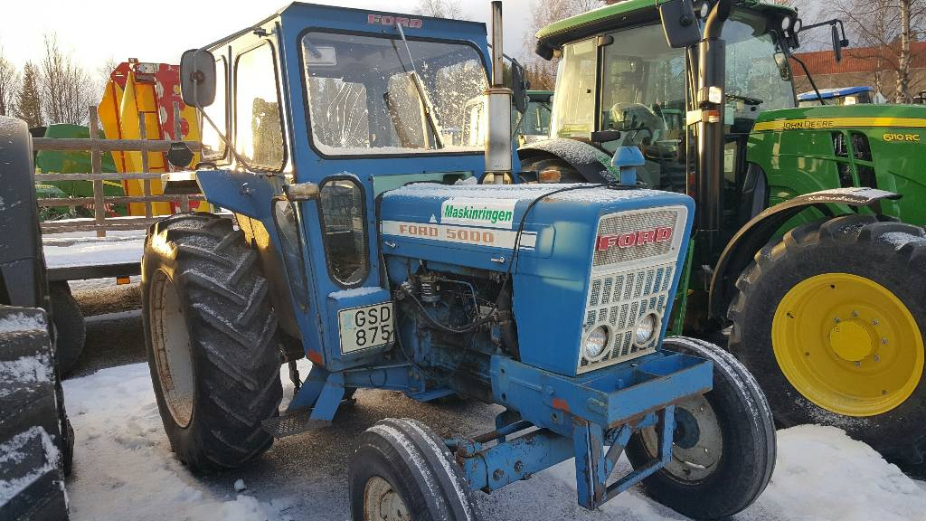 6100 Ford Tractor : Ford year tractors id b a mascus usa