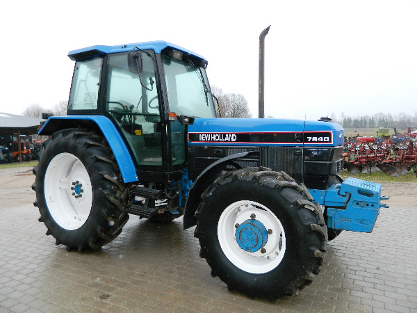 Used Tractor Tires For Sale >> Used New Holland -7840 tractors Year: 1992 Price: $17,638 for sale - Mascus USA