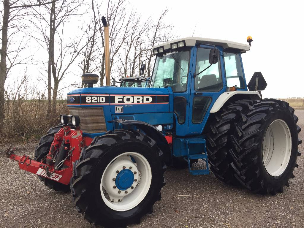 Ford 8210 Force Iii - Year  1990 - Tractors