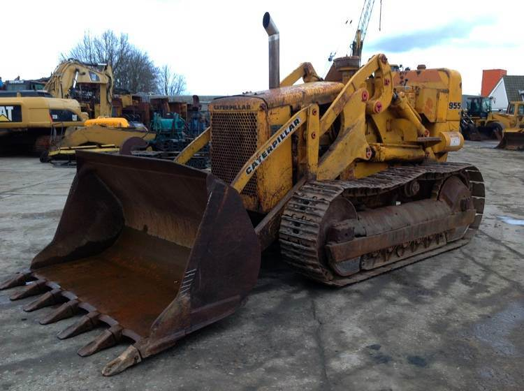 used caterpillar 955h crawler loaders year 1965 price 5 886 for sale mascus usa. Black Bedroom Furniture Sets. Home Design Ideas